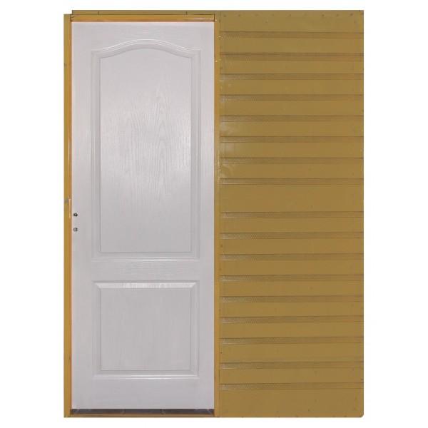 Puerta Corrediza Embutir 60 Craftmaster Blanca