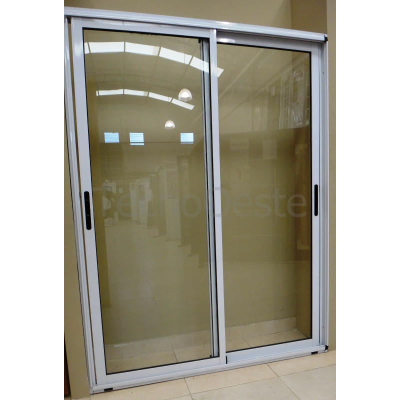 Balcon modena 150x200 con doble vidrio hermetico for Ventana balcon medidas