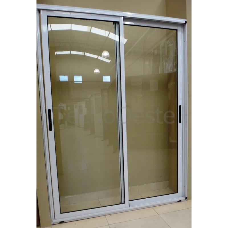 Balcon modena 150x200 con doble vidrio hermetico Puerta balcon aluminio medidas