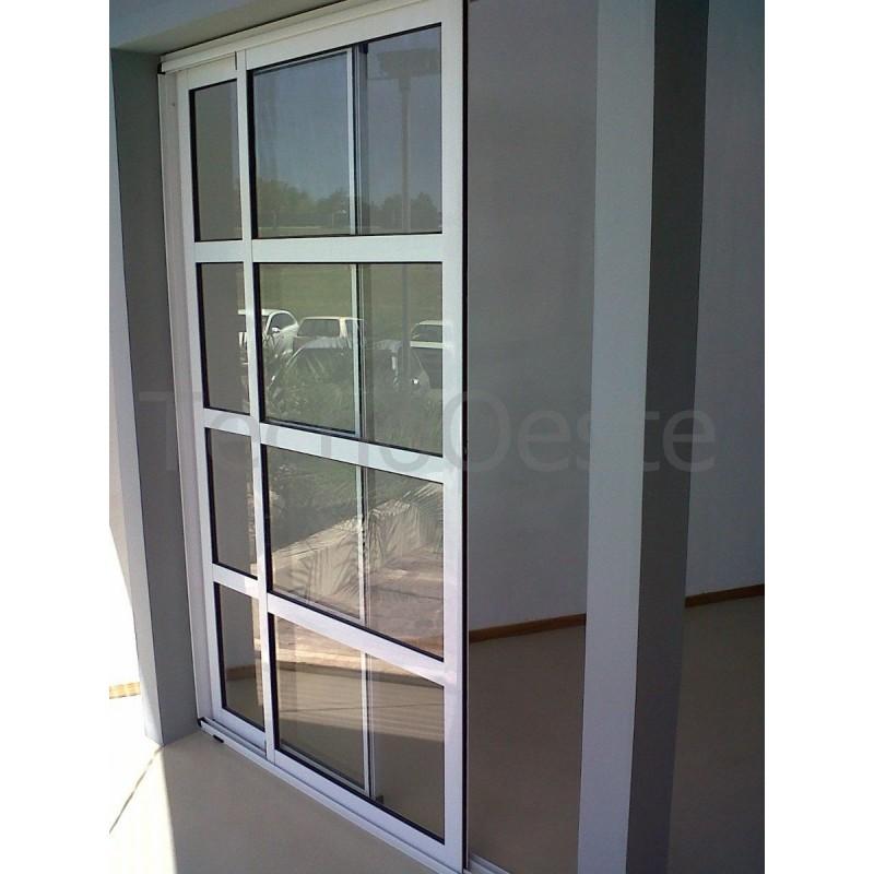 Ventanal L Nea M Dena Aluminio Repartido Horizontal 300x200