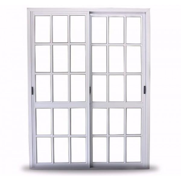 Ventana balc n aluminio oblak varesenova repartido 150x200 for Ventana balcon medidas