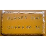 Puerta Seguridad Bunker 1945 Todo Chapa 14 100 Kg Blindadas