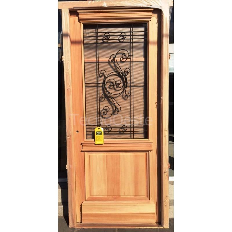 puerta madera carpincruz antigua colonial buenos aires cm