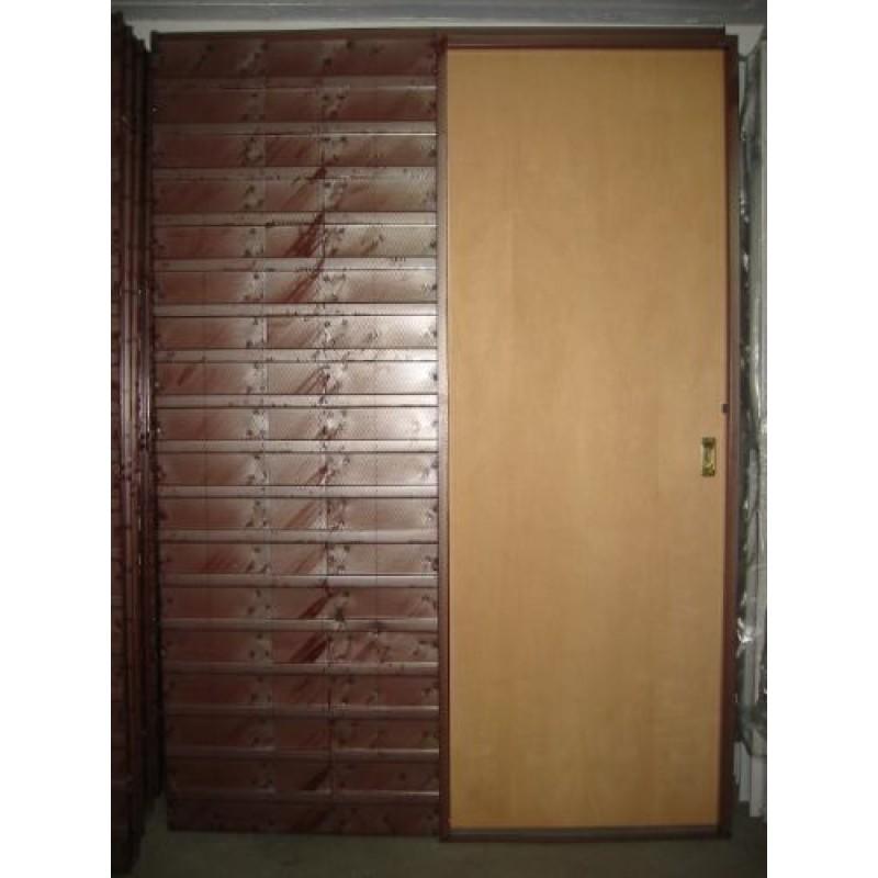 Puerta corrediza embutir 80 cm cedro - Puerta corrediza madera ...