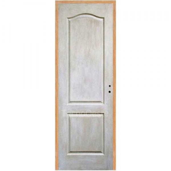 Puerta Placa Craftmaster Blanca 70 cm marco madera