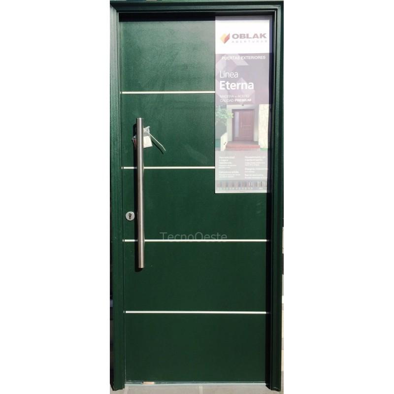 Precio oferta puerta eterna pvc verde ingles 1183 oblak 80 for Puerta ingles