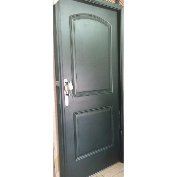 Oferta! Puerta Oblak Eterna 1107 Foliadas Pvc Verde Ingles