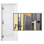 Puerta Seguridad Oblak Multipunto 1783b 80x200 Cm
