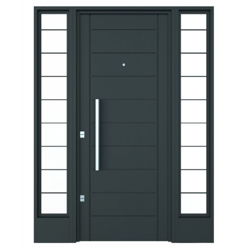 Portada atex doble lateral inyectada cerrojo de seguridad - Cerrojo de seguridad para puertas ...