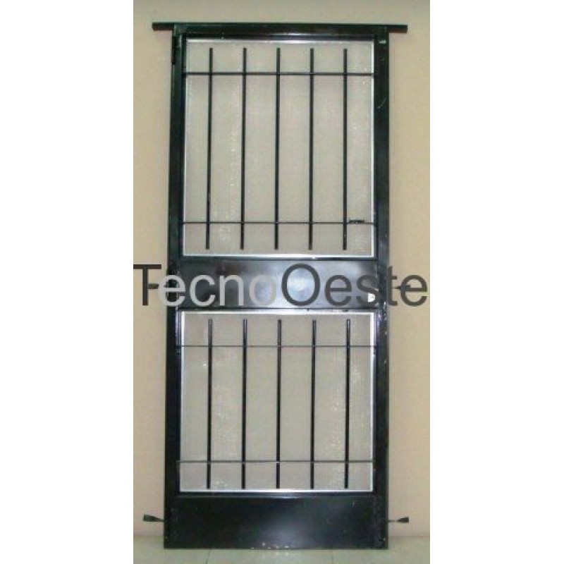Rejas seguridad stunning reja de seguridad para ventana - Puertas de reja ...