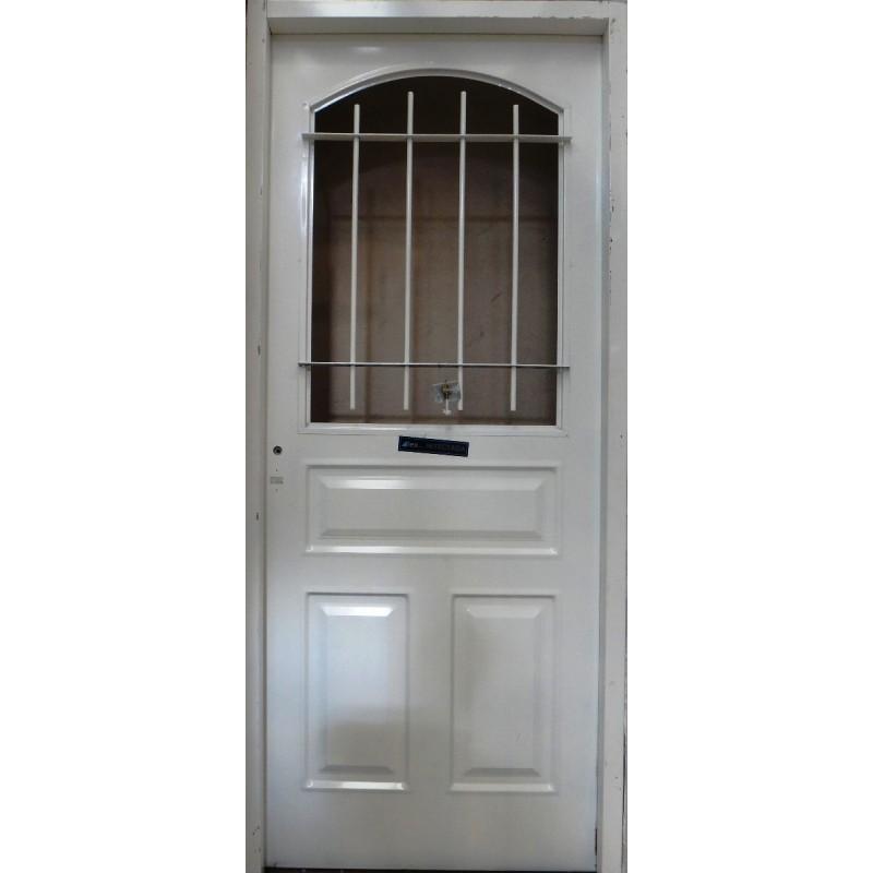 Puertas de chapa galvanizada fabricamos puertas - Puerta de acero galvanizado ...