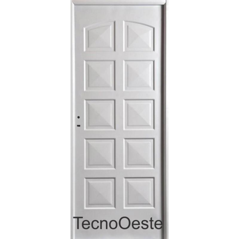 Puertas De Chapa A Medida. Cool Puerta Nexo Doble Chapa Inyectada ...