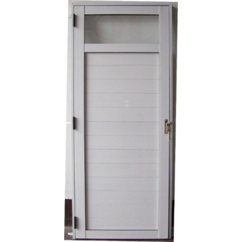 Puerta exterior de aluminio descripcin puerta exterior for Puertas metalicas modernas para exterior