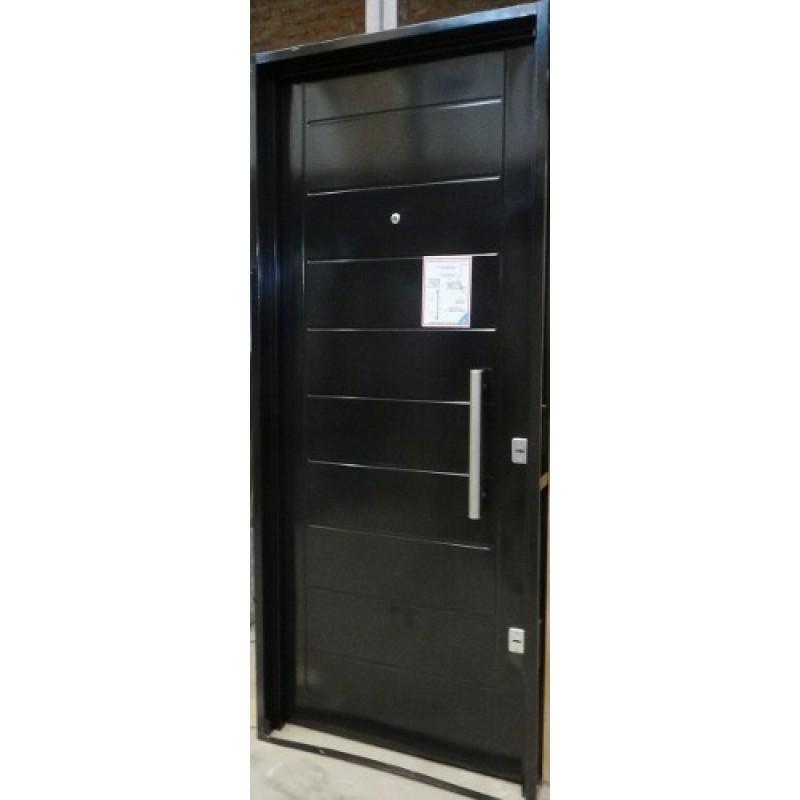 Puerta super pesada atex c cerrojo seguridad 80x200 c barral - Cerrojo de seguridad para puertas ...