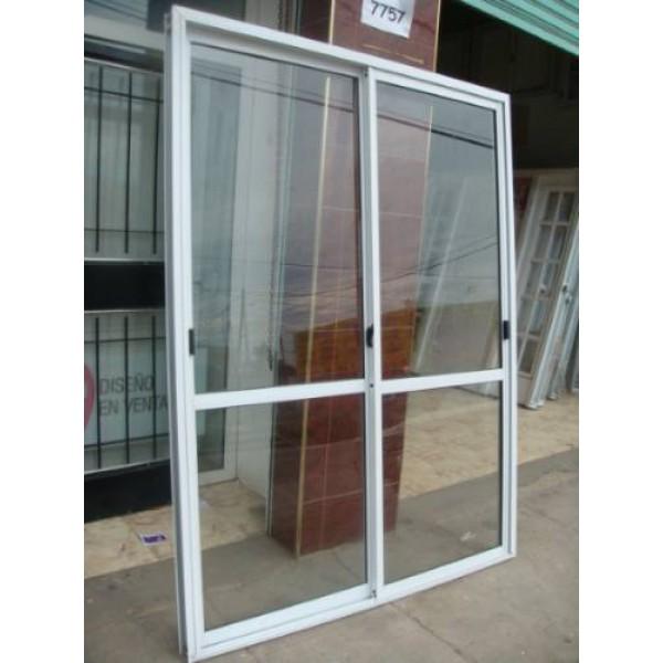 Puerta ventana balc n 120x200 vidrio entero for Puerta balcon pvc
