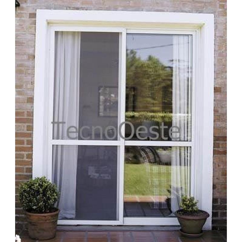 Puerta ventana balc n 150x200 vidrio entero for Puertas ventanas de aluminio medidas