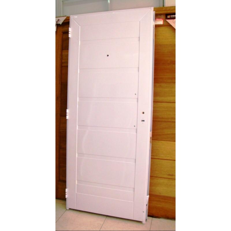 Puerta blanca pavir cerradura doble cerrojo de seguridad - Cerradura seguridad puerta ...