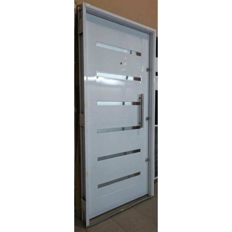Puerta blanca pavir cerradura doble cerrojo de seguridad - Cerrojos de seguridad para puertas ...