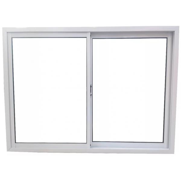 Ventana Aluminio Blanco 150x110 Con Vidrio