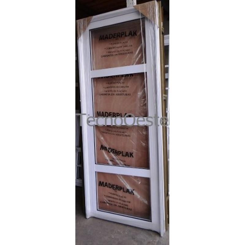 Puerta de aluminio con vidrio puerta de aluminio vidrio for Puerta de entrada de aluminio con vidrio