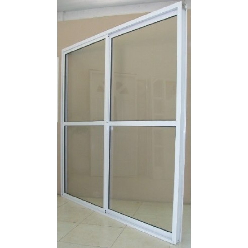 Puerta ventana balc n 180x200 vidrio entero for Puerta balcon pvc