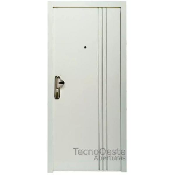 Puerta Multianclaje HierroMas 80x200 cm.