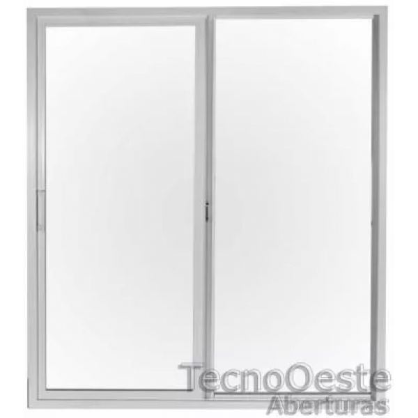 Puerta Balcon 150x200 cm de PVC con dvh