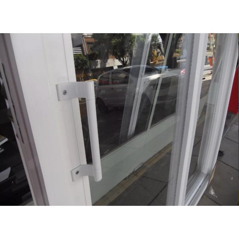 puerta balcon 200x200 cm de pvc con dvh