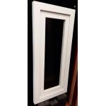 Raja de abrir 40x110 cm de PVC con dvh