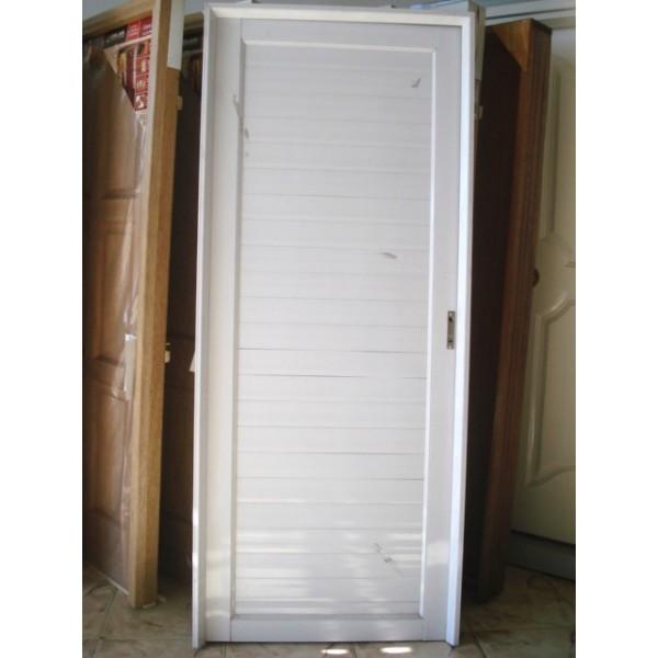 Puerta aluminio ciega exterior 80x200 - Puerta balconera aluminio ...