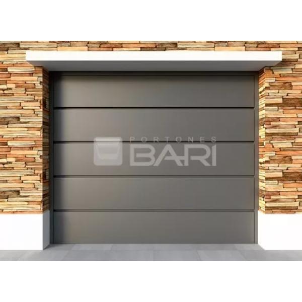 Porton levadizo automatico marca Bari