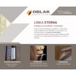 Puerta Oblak Eterna 1183 Roble  80x200 cm derecha.