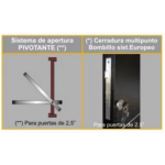 Pivotante Madera 140x260 Cm Tavernelle